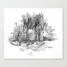 Creatures of nature Canvas Print