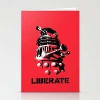 LIBERATE (VIVA DALEK!) Stationery Cards