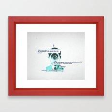 Ponder Framed Art Print