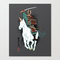 Uniyo-e Canvas Print