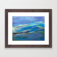 Spring Sky, Pacific Framed Art Print
