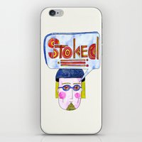 STOKED!!! iPhone & iPod Skin