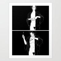 Mirror, Pts. 1 & 2 Art Print