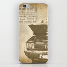 Cheap Car Hire! iPhone & iPod Skin