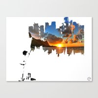 A BETTER DAY Canvas Print