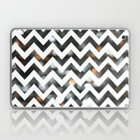 Chevron Glitter Laptop & iPad Skin