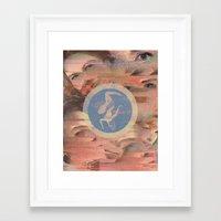 saa Framed Art Print