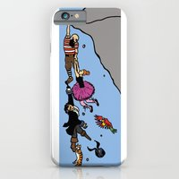 iPhone & iPod Case featuring Cliffhanger by Deesign