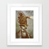 The Projectionist  Framed Art Print