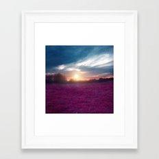 Sunset I C. Framed Art Print