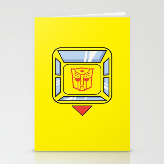 Transformers - Bumblebee Stationery Card
