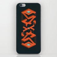 Monument Maze iPhone & iPod Skin