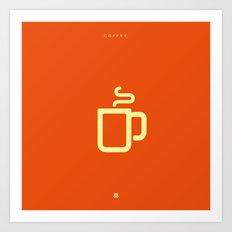 Coffee: The Drink Art Print