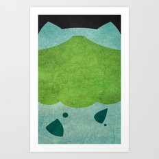 Bulbazaur! Art Print