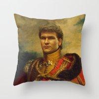 Patrick Swayze - Replace… Throw Pillow