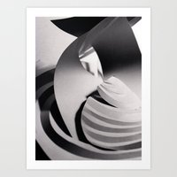 Paper Sculpture #6 Art Print