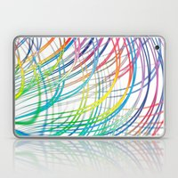 i'm a real wired one Laptop & iPad Skin