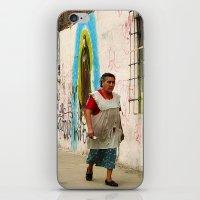 Woman in Guadalajara iPhone & iPod Skin