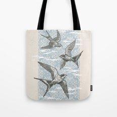 Free Bird (Three Swallows) Tote Bag