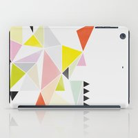 Multicolor Geometric iPad Case
