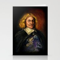 Portrait Of A Sweet Dude… Stationery Cards