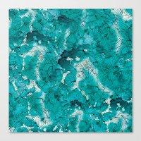Blue Depths Canvas Print