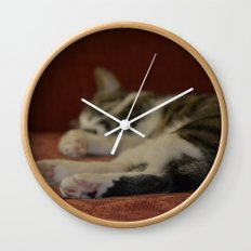 Cat Paws Wall Clock