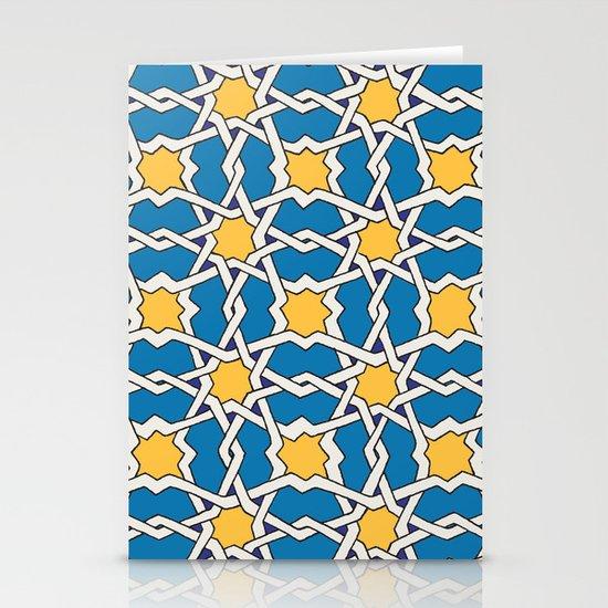 Morocco ornament Stationery Card