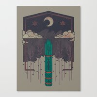 The Lost Obelisk Canvas Print