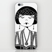 Star Of The Silver Scree… iPhone & iPod Skin