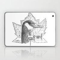 Canada Goose on Maple Leaf Laptop & iPad Skin