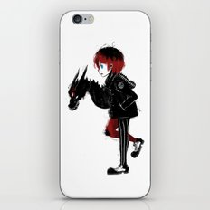 Dragon Girl iPhone & iPod Skin