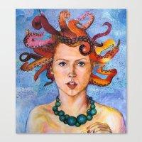 Alter-Ego Self Portrait … Canvas Print