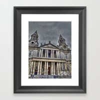 St. Paul's Cathedral, Lo… Framed Art Print