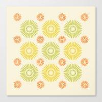 Sunburst: Summer Canvas Print