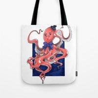 ::Mister Octopus:: Tote Bag