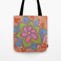 Drops And Petals 4 Tote Bag
