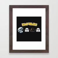 Pac Wars Framed Art Print