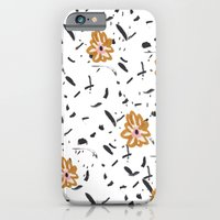Daisy. Illustration, flowers, print, design, pattern, floral, fashion, drawing, iPhone 6 Slim Case