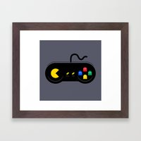 Game of Ghosts Framed Art Print