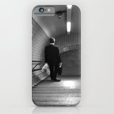 Empty London Underground stairs iPhone 6 Slim Case
