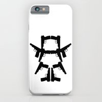 Pistol Robot iPhone 6 Slim Case