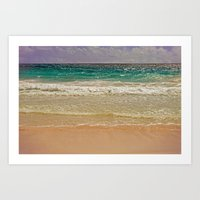 SEA-DUCED Art Print