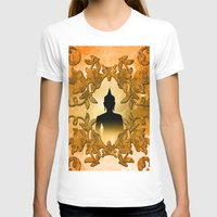 buddha T-shirts featuring Buddha  by nicky2342