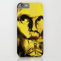 iPhone & iPod Case featuring John Malkovich by Juan Alonzo