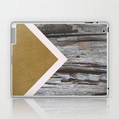 Wooded Chevron Laptop & iPad Skin