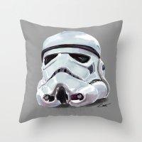 star war Throw Pillow