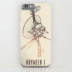 VOYAGER ONE - Space | Time | Science | Planets | Travel | Interstellar Mission | NASA iPhone 6 Slim Case