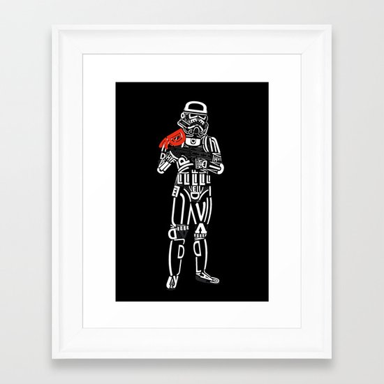 sanstrooper Framed Art Print