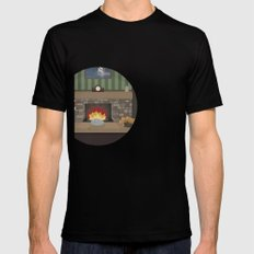 Game Name #2 Black SMALL Mens Fitted Tee